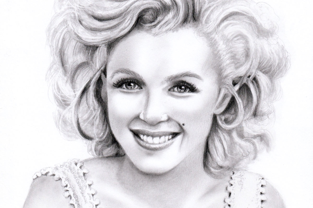 marilyn monroe, happiness, kristen clark
